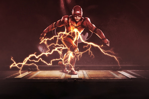 Flash Concept Poster Wallpaper