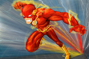 Flash Digital Art 4k