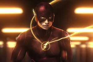 Flash Ezra Miller 4k Wallpaper