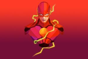 Flash Facets Justin Maller Wallpaper