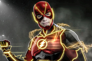 Flash Injustice 5k Wallpaper