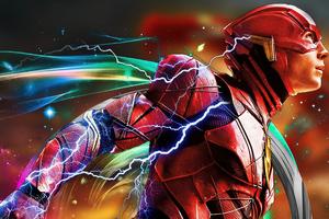 Flash Justice League Fanmade 4k Wallpaper