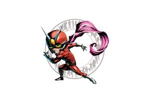 Flash Marvel Vs Capcom 3 Artwork