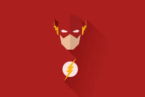 Flash Minimal Art Wallpaper
