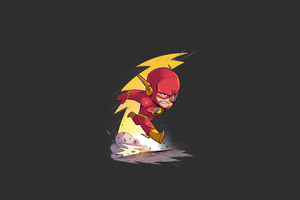 Flash Minimalism Wallpaper