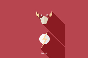 Flash Minimalisms 4k Wallpaper