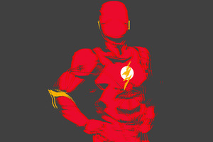Flash Minimalist Wallpaper