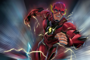 Flash New Artwork 4k