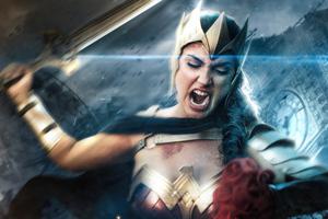 Flash Point Wonder Woman 5k
