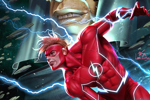 Flash Power Wallpaper
