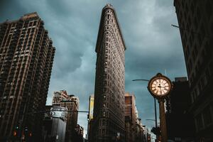 Flatiron Building New York 5k Wallpaper