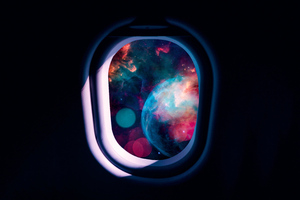 Flight Into Space 4k Wallpaper