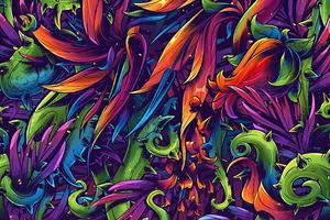 Flora Texture 4k Wallpaper