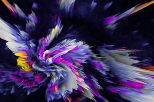 Flower Birth Abstract 8k Wallpaper