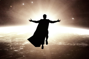 Fly Son Its Time Superman Wallpaper