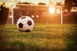 Football Ground Sun Rays 4k