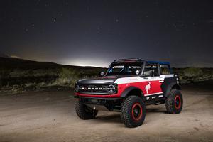 Ford Bronco 4600 Race Truck 2021 5k