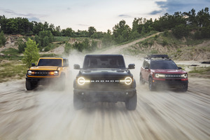 Ford Bronco Family 2020 Wallpaper