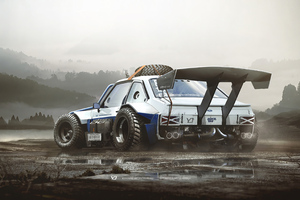 Ford Escort Mk2 4k Wallpaper