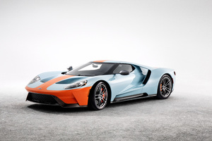 Ford GT Heritage Edition 2018 4K