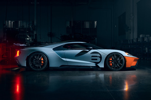 Ford Gt Heritage Edition 2020 8k