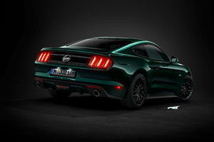 Ford Gt Mustang Rear Wallpaper