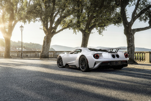 Ford Gt Rear 2020 Wallpaper