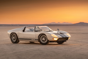 Ford GT Roadster Prototype 1965 4k