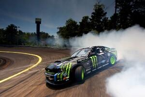 Ford Monster Drifting Smoke Wallpaper