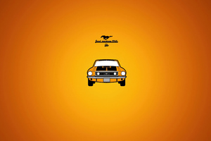 Ford Mustang 1968 Wallpaper