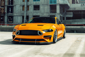Ford Mustang 8k 2020 Wallpaper