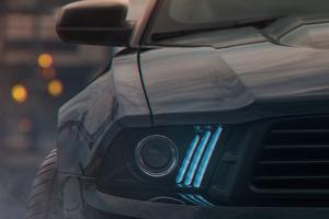 Ford Mustang Angel Lights Wallpaper