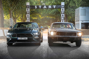 Ford Mustang Bullitt And GT Fastback