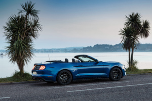 Ford Mustang EcoBoost Convertible 2018 Wallpaper