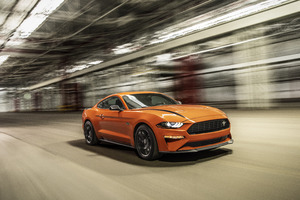 Ford Mustang EcoBoost High Performance Package 5k 2020 Wallpaper