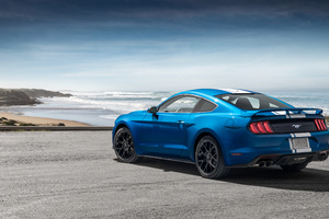 Ford Mustang EcoBoost Performance Pack 1 2018 Rear