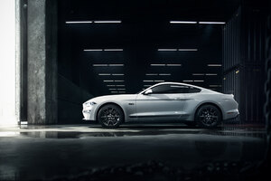 Ford Mustang Grey Wallpaper
