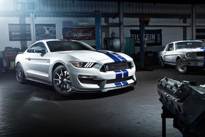 Ford Mustang GT 350 4k Wallpaper