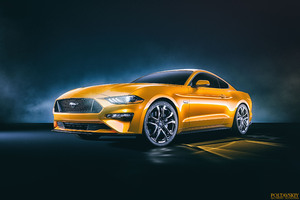 Ford Mustang GT 4k Front Wallpaper