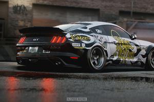 Ford Mustang Gt Drag King Nfs 4k
