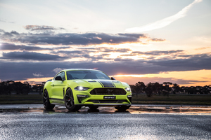 Ford Mustang GT Fastback 2019 Wallpaper