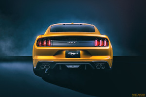 Ford Mustang GT Rear 4k Wallpaper