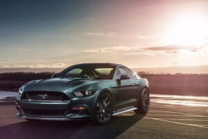 Ford Mustang GT Velgen Wheels Wallpaper