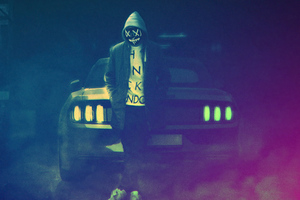 Ford Mustang Hoodie Boy 5k Wallpaper