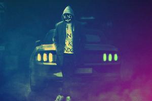 Ford Mustang Hoodie Boy 5k
