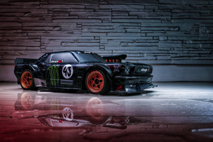 Ford Mustang Hoonicorn Wallpaper