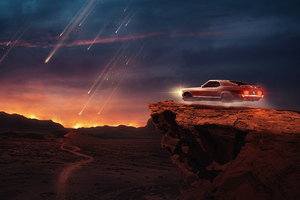Ford Mustang Hover Wallpaper