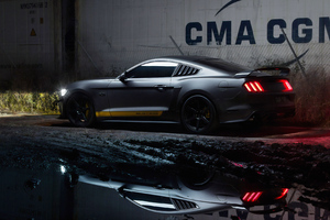 Ford Mustang In Mud Wallpaper