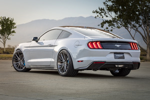 Ford Mustang Lithium 2019 Rear Wallpaper
