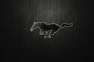 Ford Mustang Logo 4k Wallpaper